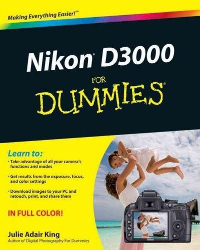 Professional photography advice for D3000 beginners The Nikon D3000 is Nikon's new entry-level camera. With the D3000, you get all the features of Nikon's older cameras along with an updated battery,