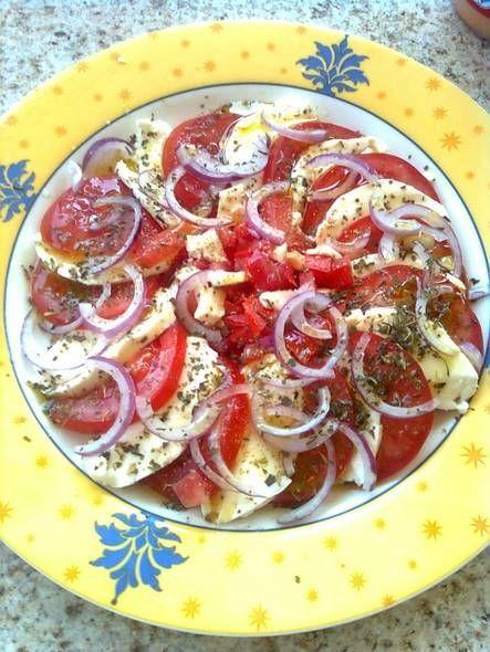 Tomatensalade Met Mozzarella recept | Smulweb.nl