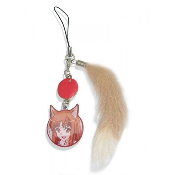 Spice and Wolf: Holo (Horo) and Tail Cell Charm