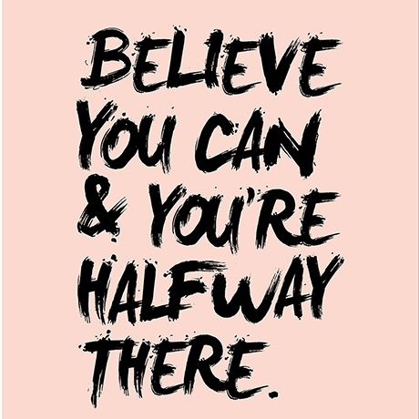 Wie war ist das denn Bitte? DU musst einfach nur an Dich glauben! denn genau dann hast du das meiste eigentlich schon geschafft. Du darft dir mit deinen Gedanken nicht selbt im Weg stehen! Glaube an dich, dann wirst du es auch schaffen.