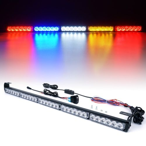 "Xprite RZ Series 30"" Offroad Rear Chase LED Strobe Light bar with Brake Reverse - RYWBR"