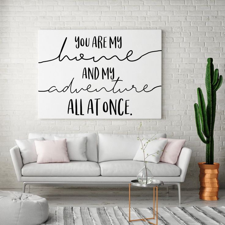 You Are My Home And My Adventure Sign, Love Quote …