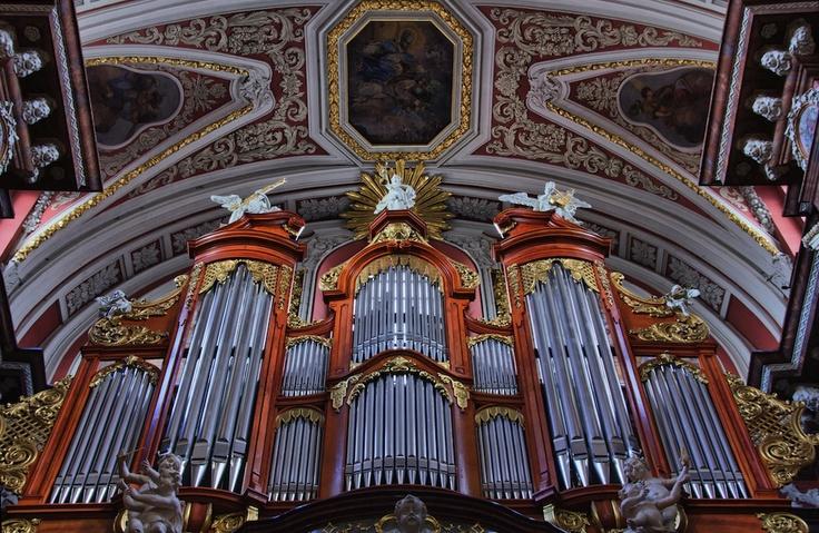 Poznan Poland, organy Friedricha Ladegasta w Poznańskiej Farze [fot.Michał Wrombel]