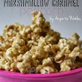Gooey Marshmallow Caramel Popcorn Recipe. There is nothing I don't like about this recipe. Will try with airpopped popcorn