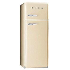 Smeg FAB30QP Fridge Freezer, Right Hand Side Hinges, Cream