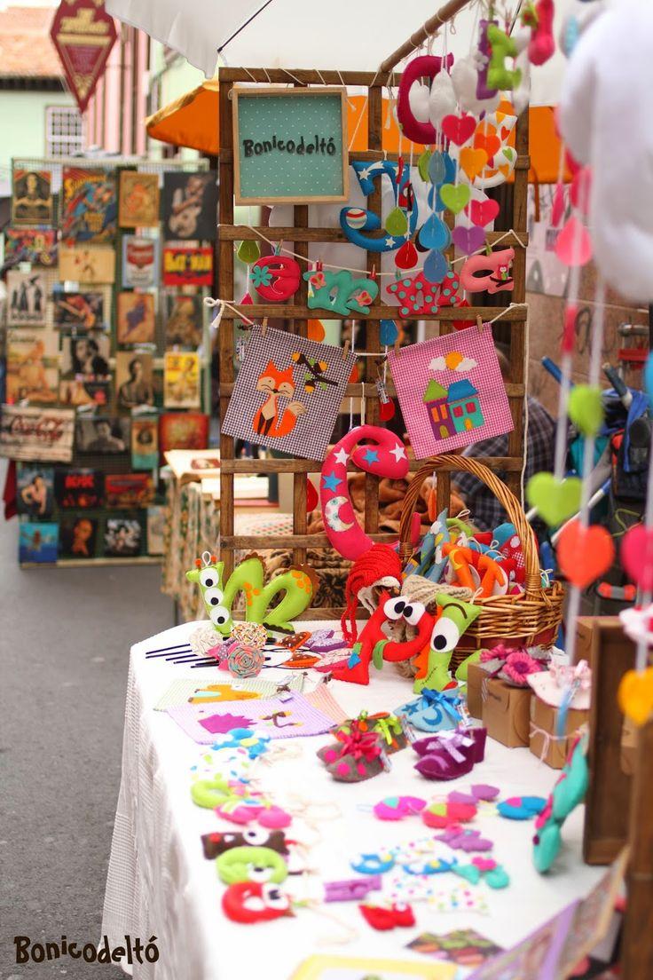 Feria de artesania puesto de bonicodelt artesan a y for Decorar regalos