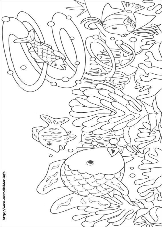 ten großartig regenbogenfisch malvorlage gedanke 2020