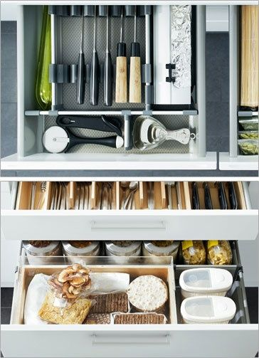 Charmant Ikea Kitchen Organization.
