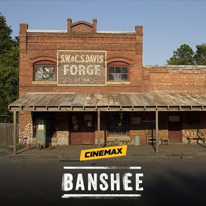 Banshee TV series. Sex, violence and a fun plot...not for the faint of heart or easily offended.  Watched first season in one sitting.