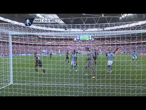 FOOTBALL -  Extended highlights Wigan Athletic vs Manchester City 1-0, FA Cup Final 2013 - http://lefootball.fr/extended-highlights-wigan-athletic-vs-manchester-city-1-0-fa-cup-final-2013/