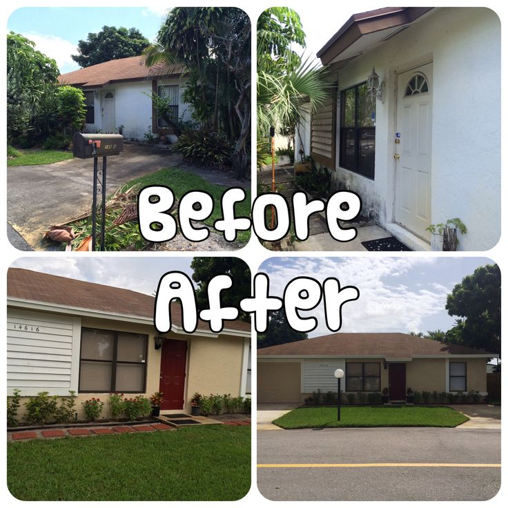 """These are the before, In progress and after photos of my first flip.  I call it.  """"The project beginners luck"""".  yes, a lot of work and learning tears but it was worth it ..:"""