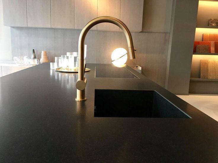 MGS keukenkraan Spin D Gold - Product in beeld - Startpagina voor keuken ideeën | UW-keuken.nl