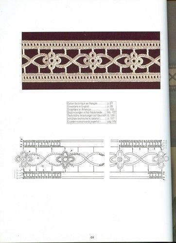 σχέδια Βιβλίο: Δημιουργίες με βελονάκι d'or 1996 - δεμένη δίκτυο, ακτίνες και ένα γάντζο - CREATIVE ΧΕΡΙΑ - Εκδότης - γραμμή ζωής