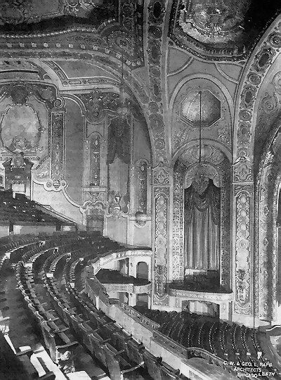 """Michigan Theatre - INTERIOR SHOT FROM JOHN LAUTER I guess this is where I saw the """"Sound of Music"""" in 1964"""