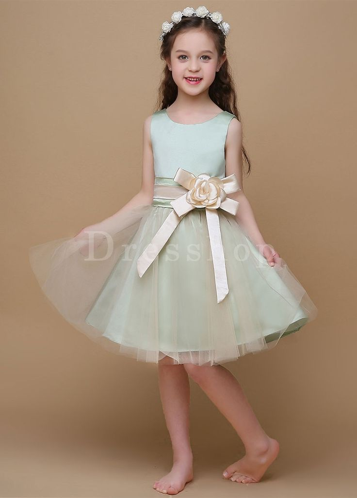 Erin likes Snazzy A-Line Sleeveless Scoop Zipper Flower Girl Dresses - Flower Girl Dresses 2017 - Flower Girl Dresses - Wedding Party Dresses - Dresshopau.com