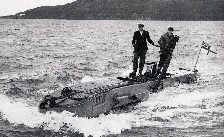 Royal Navy X-Craft Midget Submarine c. 1943 - Pixdaus