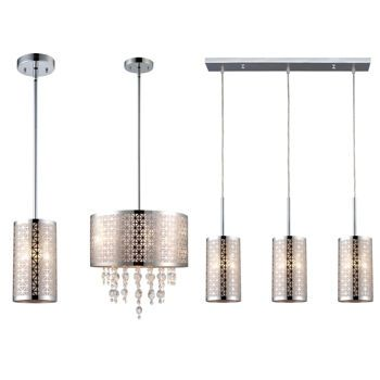 Canarm blake lighting collection chrome finish available in 2 sizes
