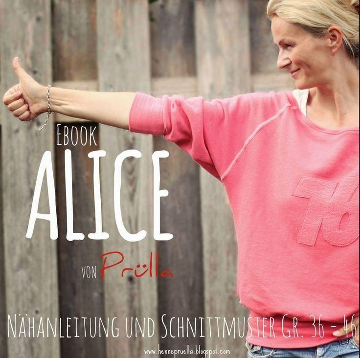 Raglansweater Alice Nähanleitung und Schnittmuster in A4 und A0 - Schnittmuster und Nähanleitungen bei Makerist