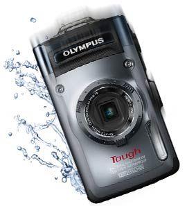 Olympus TG-1iHS 12 MP Waterproof Digital Camera with 4x Optical Zoom