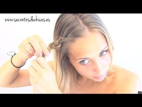 Peinados rápidos y fáciles para diario - YouTube