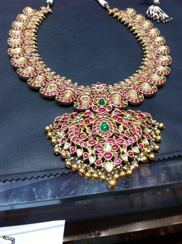 Exclusive Mangai mala with real rubies..!!