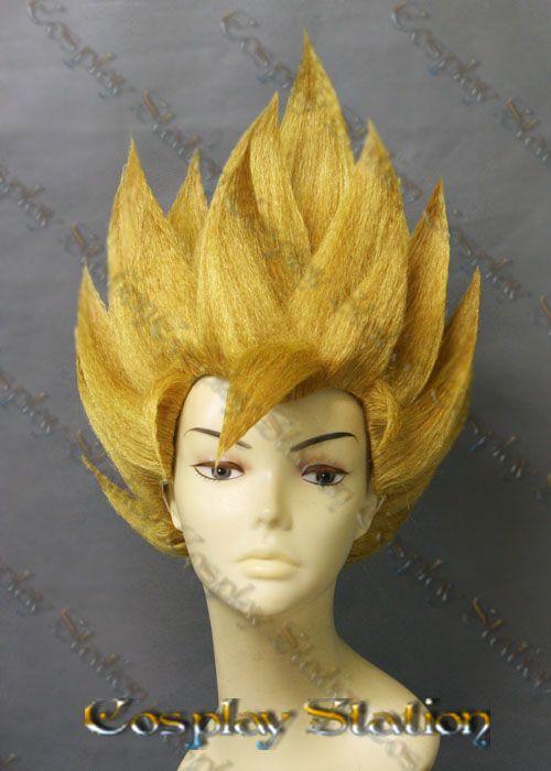 Super Saiyan 2 Goku Custom Made Cosplay Wig  4afd29dbd6
