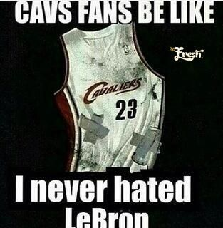 "Bet I won't hear one peep out of a nigger from Cleveland other than ""I never hated Lebron""... ~Kevin Hart Comedy"