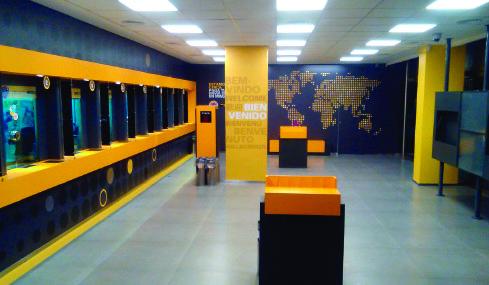 Diseño de cadenas comerciales – Western Union & Pago Fácil – Miller Zell