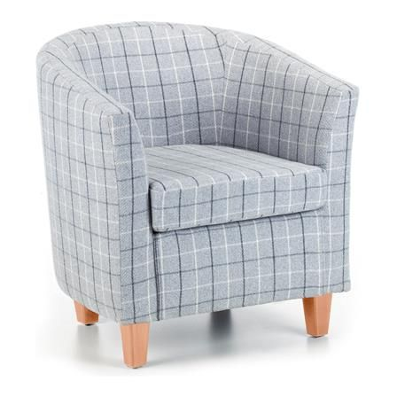 sterling tub chair grey legs