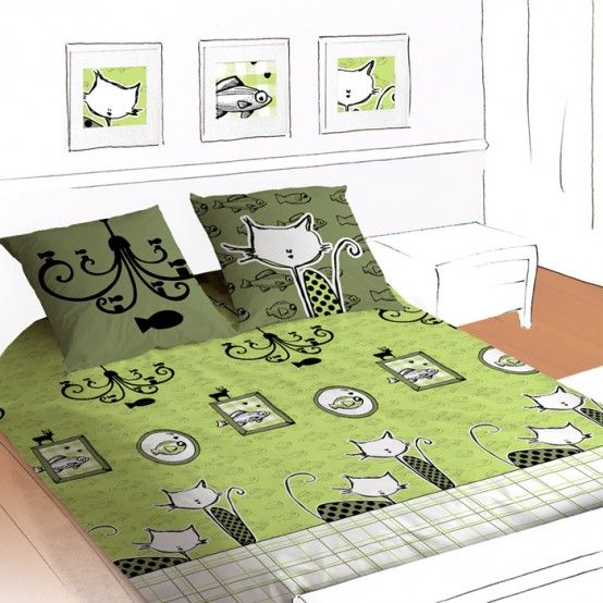 I wish this bedding had been around when I was a kid!