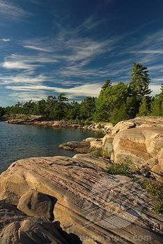Snug Harbour, Franklin Island, Parry Sound, Geogian Bay, Lake Huron, Canadian Shield, Ontario, Canada by Paul Madden