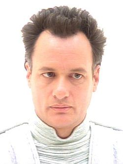"Q in the guise of ""God"" in ""Tapestry"" in Star Trek: The Next Generation portrayed by John de Lancie"