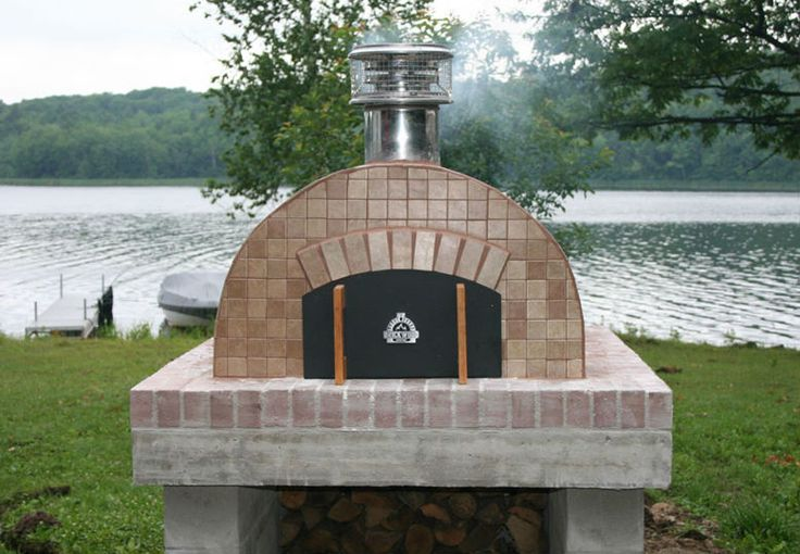 The Cortile Barile DIY Castable Refractory Wood-Fired Pizza Oven by BrickWood Ovens