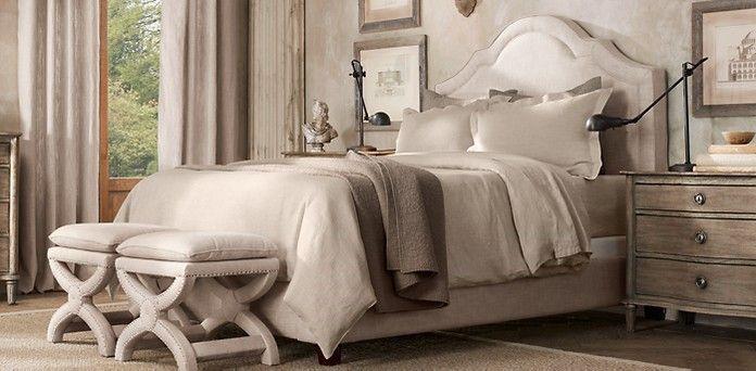 bedroom restoration hardware master bedroom pinterest