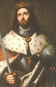 Retrato de San Fernando III