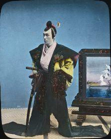 Japanese samurai by Okänd. Tekniska museet, Public Domain