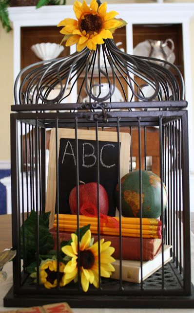 5 Fun Back to School Centerpieces