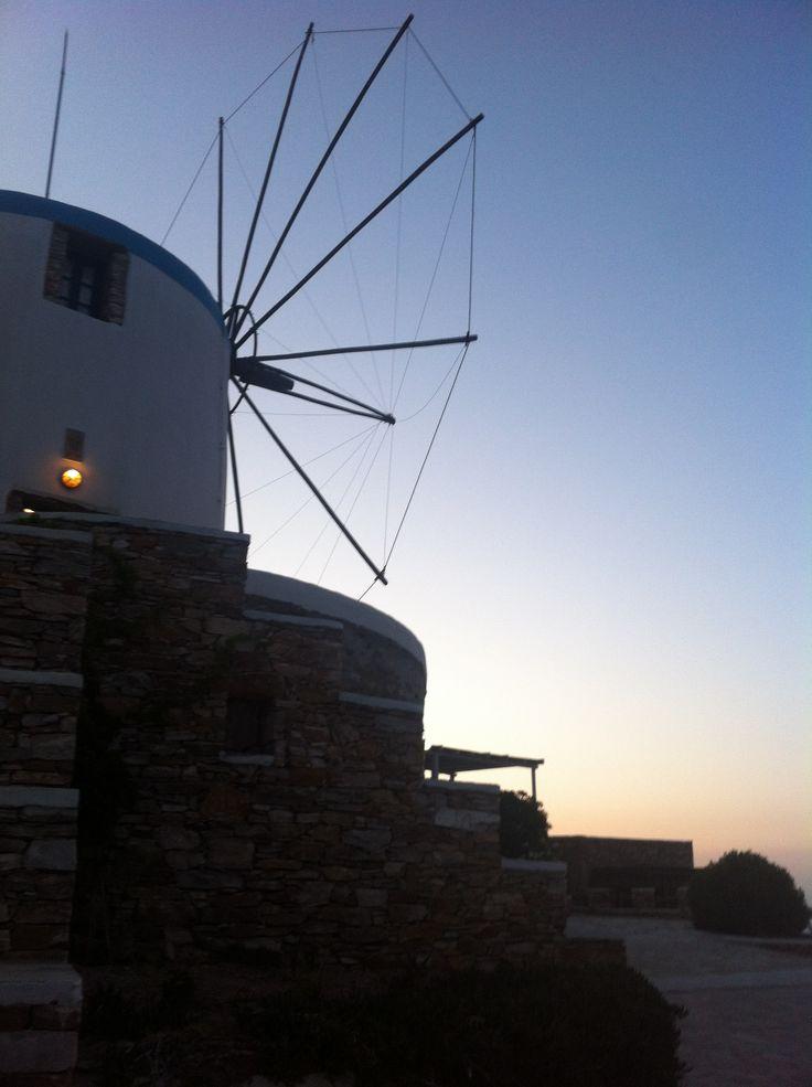 Sifnos Greece Windmill