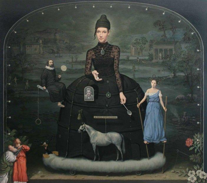 Alan MacDonald, 'Lady Luck', oil on linen | Scottish Contemporary Art