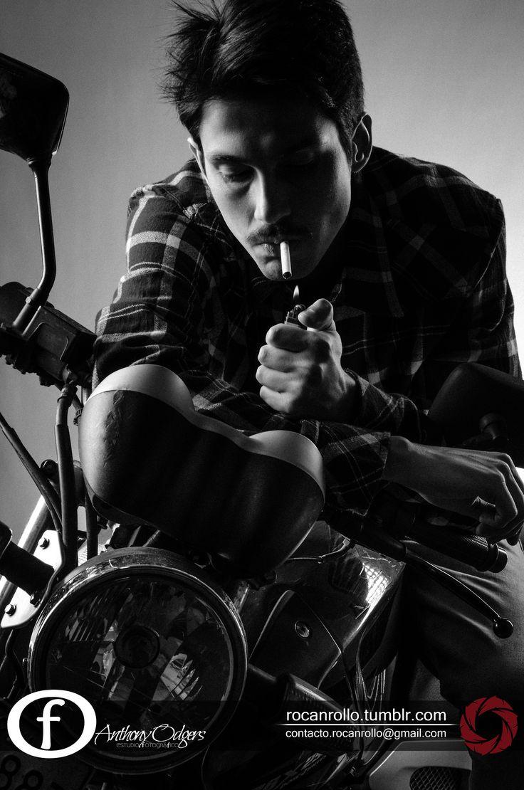 #fotografia #Byn #byw #moto #RocanRollo #Nikon #Concepcion #smoke rocanrollo.tumblr.com