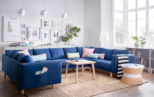 Comfortable and stylish seating for everyone. Gather round!