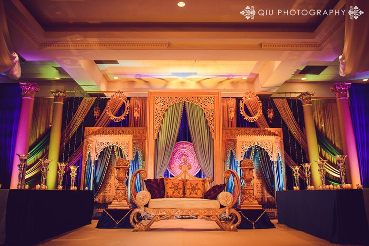 Toronto South Asian Wedding Decor Inspiration
