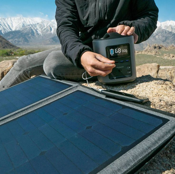 Solar rechargeable mobile battery system. Take it anywhere you go and charge batteries for your phone camera laptop and more. #portablepower #portablebattery  #solar #solarpower #solarcharger #camping #rvliving #rvlife #boatingfun #boating #beachlife #remotephotography #photographer #photography #photographerlife #recharge