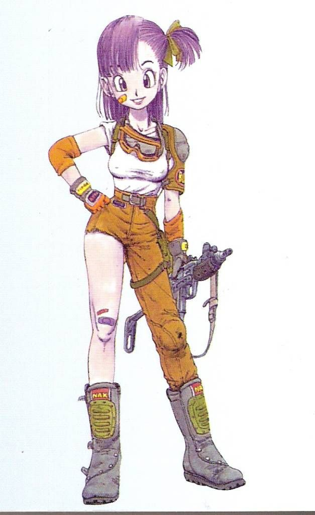 Bulma  (Dragonball) - she's also just plain awesome.