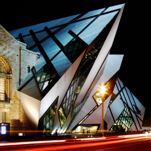 Royal Ontario Museum Expansion (Toronto, Canada) #architecture #design