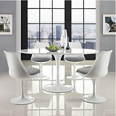 Mesa Saarinen Jantar Redonda Nanoglass 1,20 Diametro - R$ 2.854,98 em Mercado Livre