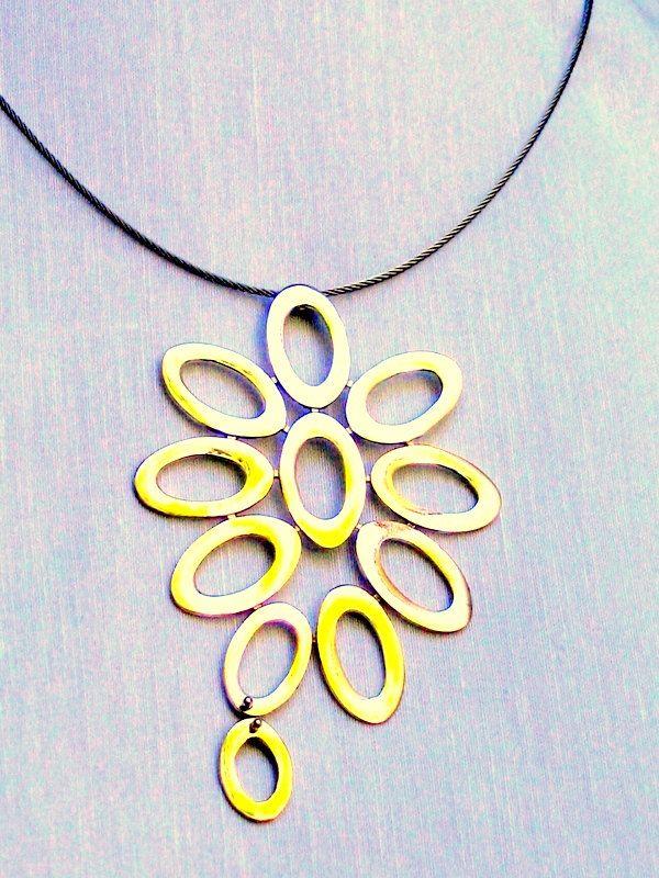 Handmade necklace by KORMENTZACREATIONS on Etsy