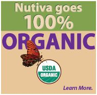 You can find all of their info regarding production - including GMO  Nutiva goes 100% Organic