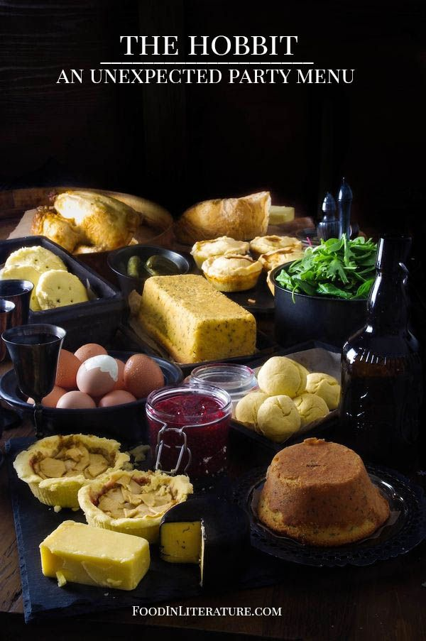 Here is a link to recipes for any one who wishes to throw a Hobbit or Lord of the Rings party. Or if you have an Unexpected Gathering of dwarves in your home and have no idea what to cook them.