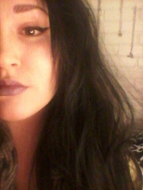 Soft purple lipstick ♡ #cateyes